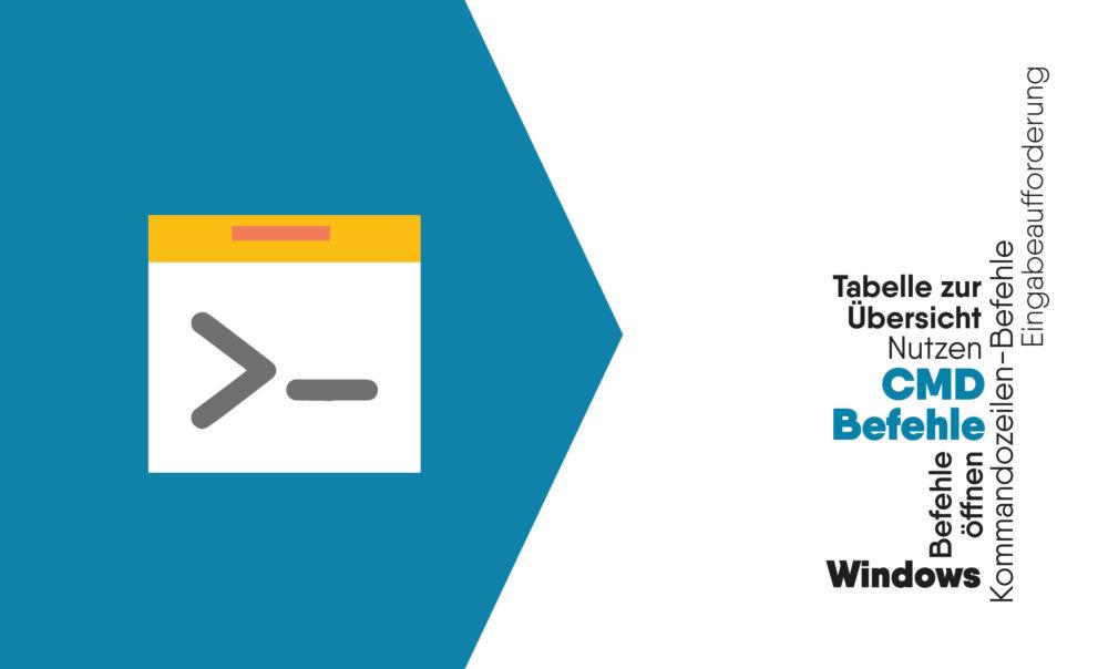 CMD Befehle für Windows mit Übersicht Eingabeaufforderung / Konsole