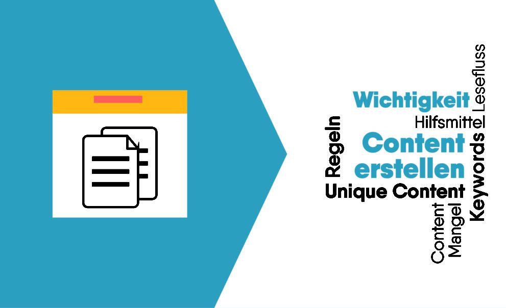 Content erstellen leicht gemacht Anleitung