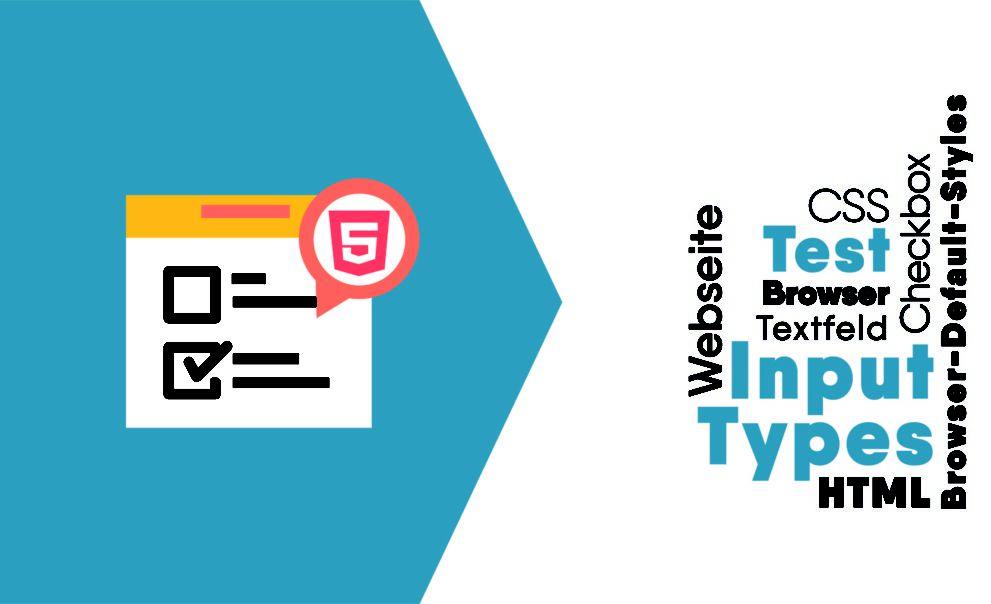 HTML Input Types Testseite mit form, button, date, password, file und weiteren Einträgen.
