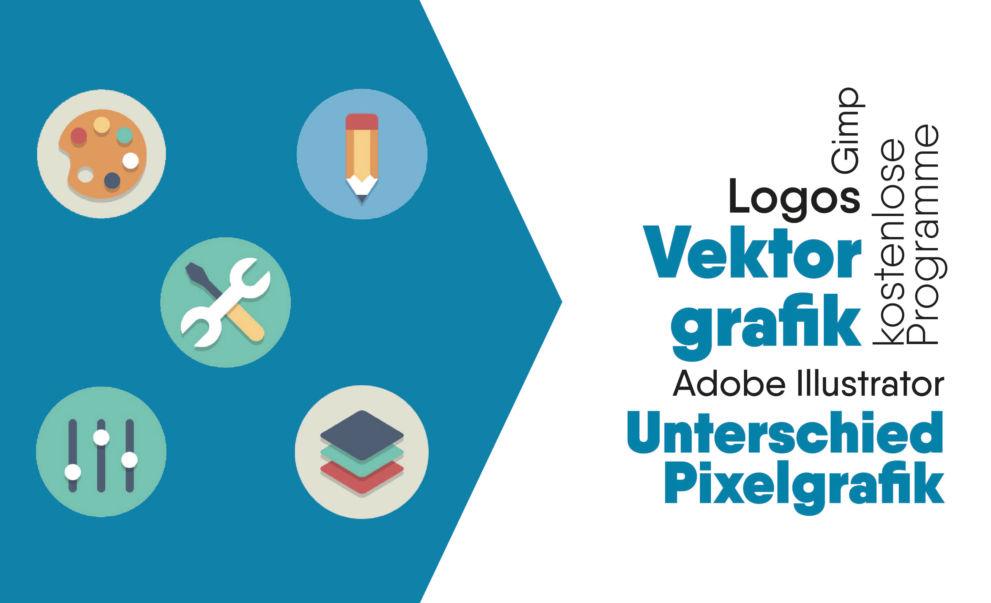 Vektorgrafik erstellen mit kostenlose Programmen und Anleitung für EPS SVG Datei