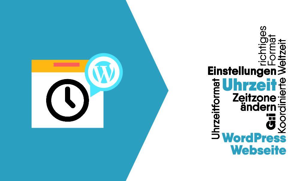 Deutsche Uhrzeit auf der WordPress Webseite einstellen