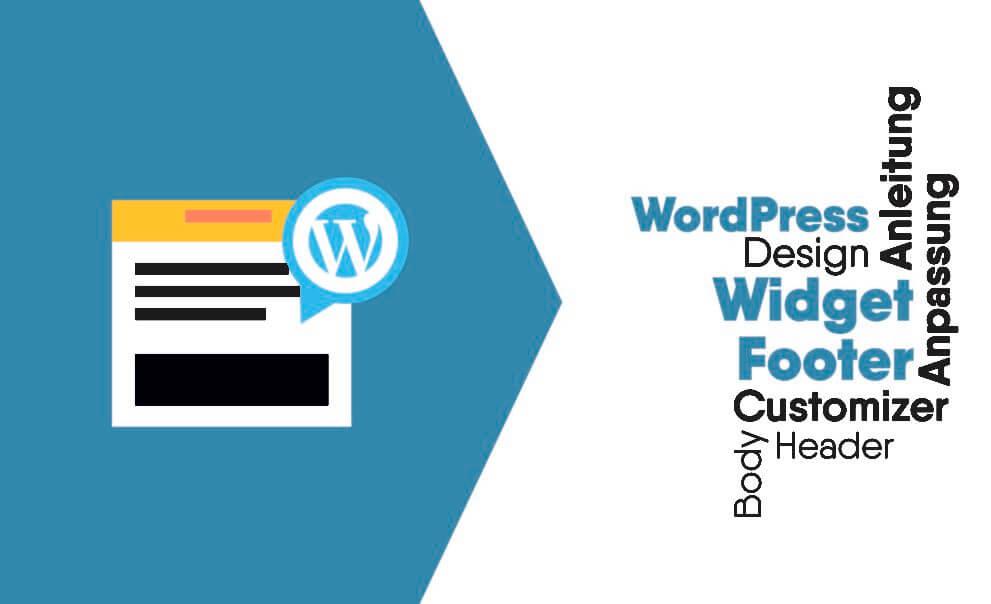 WordPress Footer CSS anpassen und bearbeiten mit WP Widget