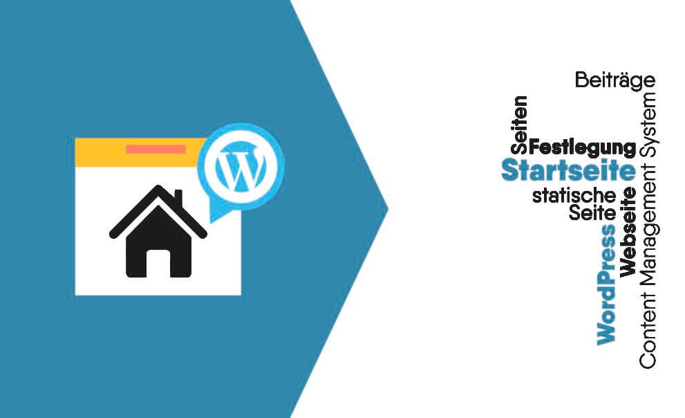 WordPress Startseite festlegen / ändern / erstellen / bearbeiten