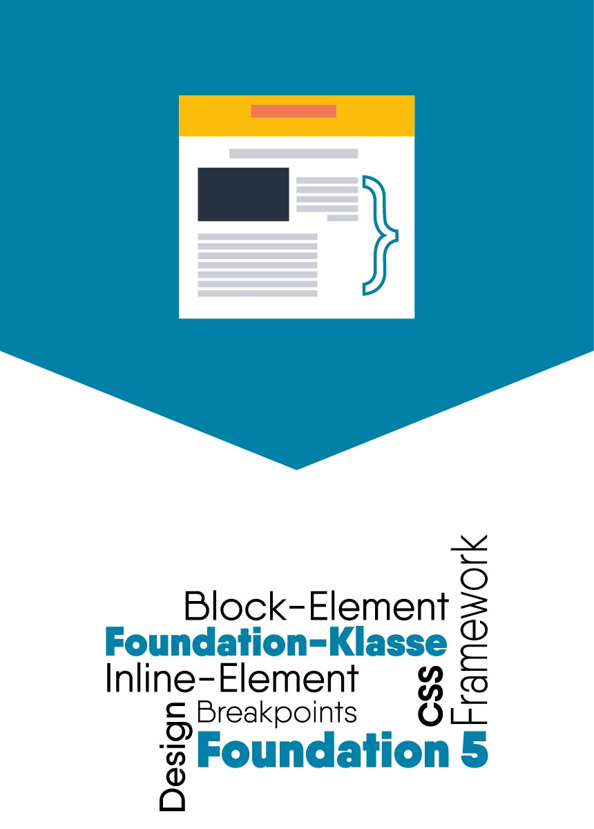 foundation5 visibility klasse inline block element