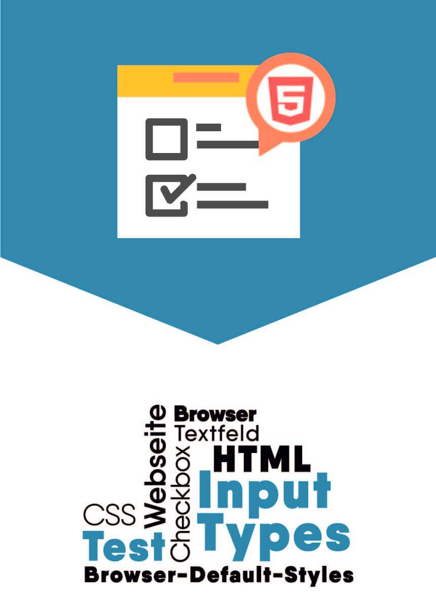 HTML input type
