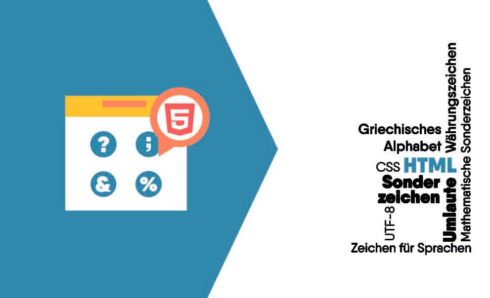 HTML Umlaute und Sonderzeichen inkl. Liste mit Entities und Unicodes