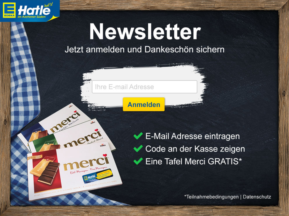 Edeka App Newsletter Anmeldung