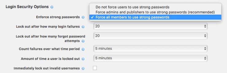 WordPress Login-Versuche begrenzen