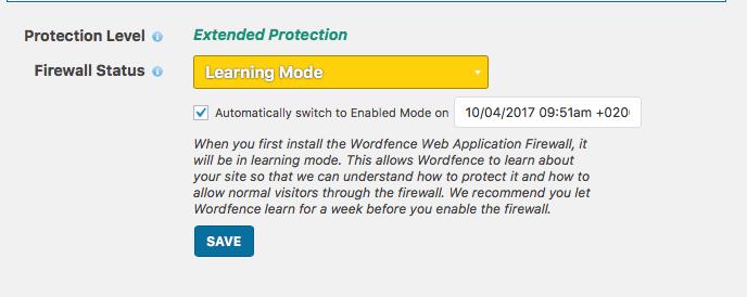 Wordfence Firewall