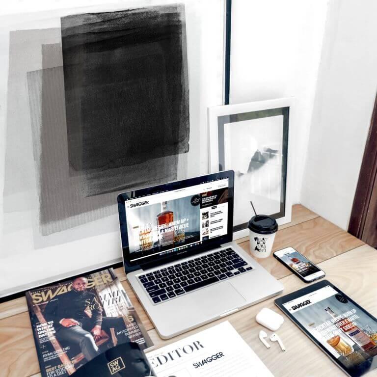 Webseite mit Webdesign aus Hofheim