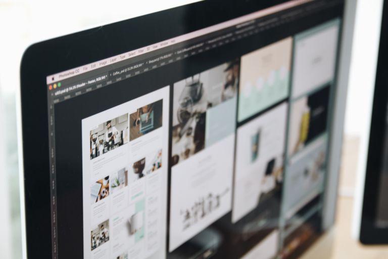 Webseite mit Webdesign in Köln