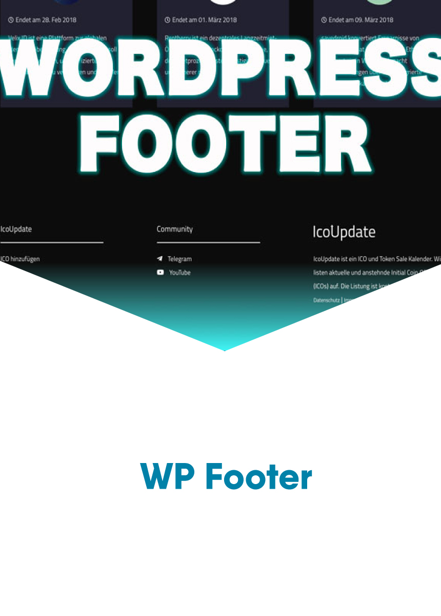 Wordpress Footer CSS Anpassung