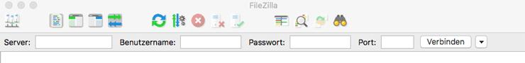 Wordpress FTP Zugang erstellen