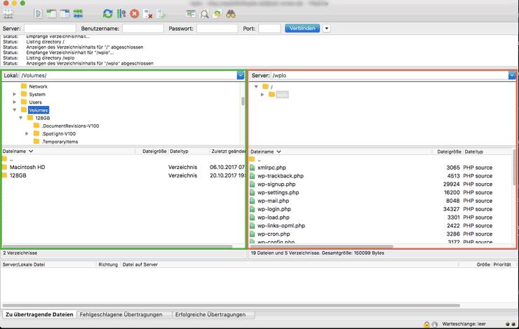 wordpress functions.php bearbeiten